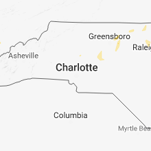Regional Hail Map for Charlotte, NC - Saturday, September 1, 2018