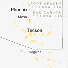 Regional Hail Map for Tucson, AZ - Sunday, September 2, 2018