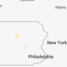 Regional Hail Map for Scranton, PA - Monday, September 3, 2018