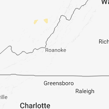 Regional Hail Map for Roanoke, VA - Tuesday, September 4, 2018