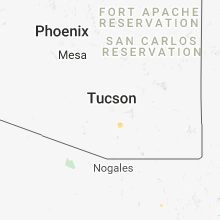 Regional Hail Map for Tucson, AZ - Tuesday, September 4, 2018
