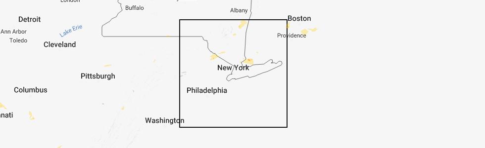 Interactive Hail Maps - Hail Map for Bridgeport, CT