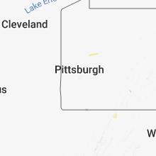 Regional Hail Map for Pittsburgh, PA - Thursday, September 6, 2018