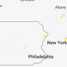 Regional Hail Map for Scranton, PA - Thursday, September 6, 2018