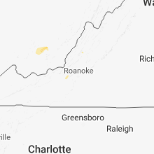Regional Hail Map for Roanoke, VA - Friday, September 7, 2018