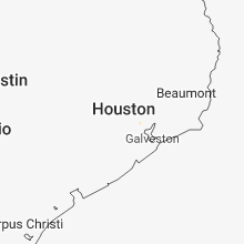Regional Hail Map for Houston, TX - Sunday, September 9, 2018