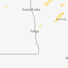 Regional Hail Map for Fargo, ND - Wednesday, September 12, 2018