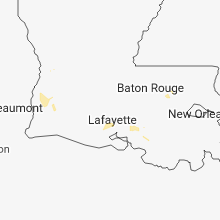Regional Hail Map for Lafayette, LA - Sunday, September 16, 2018