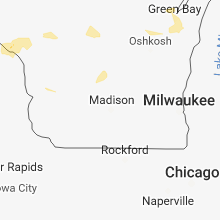Hail Map for madison-wi 2018-09-17