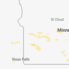 Regional Hail Map for Montevideo, MN - Monday, September 17, 2018