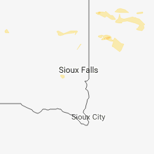 Regional Hail Map for Sioux Falls, SD - Monday, September 17, 2018