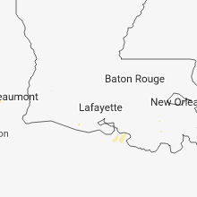 Regional Hail Map for Lafayette, LA - Tuesday, September 18, 2018