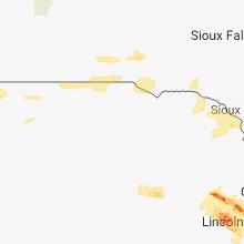 Regional Hail Map for Oneill, NE - Tuesday, September 18, 2018