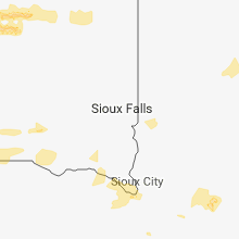 Regional Hail Map for Sioux Falls, SD - Tuesday, September 18, 2018