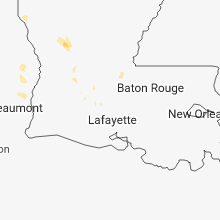 Regional Hail Map for Lafayette, LA - Wednesday, September 19, 2018