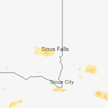 Regional Hail Map for Sioux Falls, SD - Wednesday, September 19, 2018