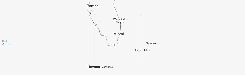 Map Of Weston Florida.Interactive Hail Maps Hail Map For Weston Fl