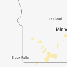 Regional Hail Map for Montevideo, MN - Thursday, September 20, 2018
