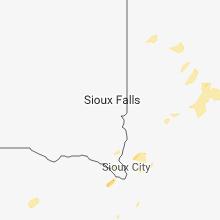 Regional Hail Map for Sioux Falls, SD - Thursday, September 20, 2018