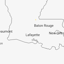 Regional Hail Map for Lafayette, LA - Friday, September 21, 2018