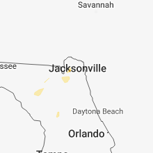 Regional Hail Map for Jacksonville, FL - Friday, September 28, 2018
