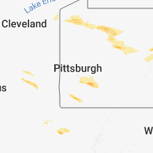 Regional Hail Map for Pittsburgh, PA - Tuesday, October 2, 2018