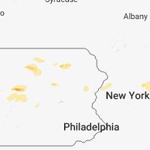 Regional Hail Map for Scranton, PA - Tuesday, October 2, 2018