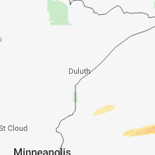 Regional Hail Map for Duluth, MN - Wednesday, October 3, 2018