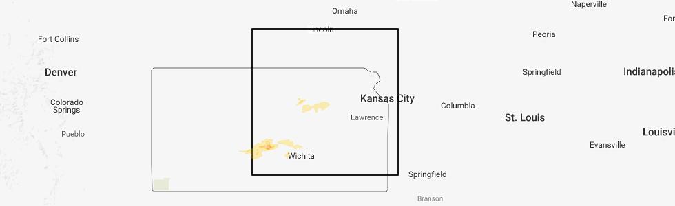 Junction City Kansas Map.Interactive Hail Maps Hail Map For Junction City Ks