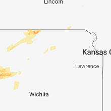 Regional Hail Map for Manhattan, KS - Friday, October 5, 2018
