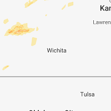Regional Hail Map for Wichita, KS - Friday, October 5, 2018