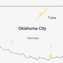 Regional Hail Map for Oklahoma City, OK - Sunday, October 7, 2018