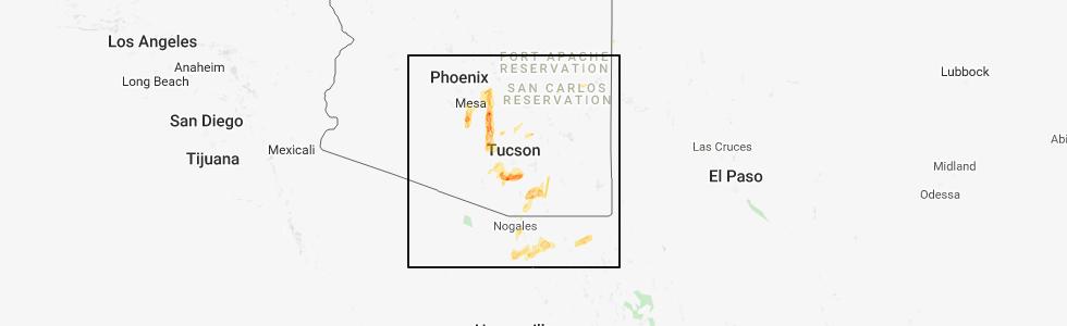 Map Of Eloy Arizona.Interactive Hail Maps Hail Map For Eloy Az
