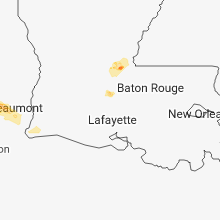 Regional Hail Map for Lafayette, LA - Wednesday, November 7, 2018