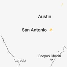 Regional Hail Map for San Antonio, TX - Sunday, November 11, 2018