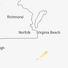 Regional Hail Map for Virginia Beach, VA - Saturday, November 24, 2018
