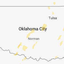 Regional Hail Map for Oklahoma City, OK - Friday, November 30, 2018
