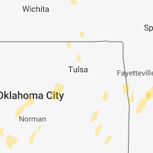 Regional Hail Map for Tulsa, OK - Friday, November 30, 2018