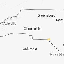 Regional Hail Map for Charlotte, NC - Sunday, December 2, 2018