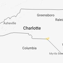Regional Hail Map for Charlotte, NC - Sunday, December 2, 2018