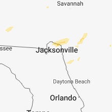 Regional Hail Map for Jacksonville, FL - Sunday, December 2, 2018