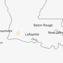 Regional Hail Map for Lafayette, LA - Thursday, December 27, 2018