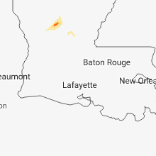 Regional Hail Map for Lafayette, LA - Friday, January 18, 2019