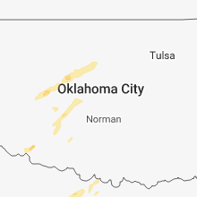 Regional Hail Map for Oklahoma City, OK - Wednesday, February 6, 2019