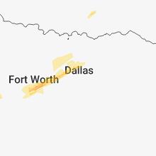 Regional Hail Map for Dallas, TX - Friday, March 8, 2019