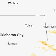 Hail Map for tulsa-ok 2019-03-24
