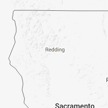 Regional Hail Map for Redding, CA - Wednesday, March 27, 2019