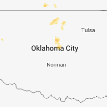 Regional Hail Map for Oklahoma City, OK - Thursday, March 28, 2019