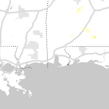Regional Hail Map for Mobile, AL - Saturday, April 6, 2019