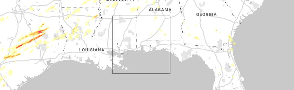 Interactive Hail Maps - Hail Map for Selma, AL